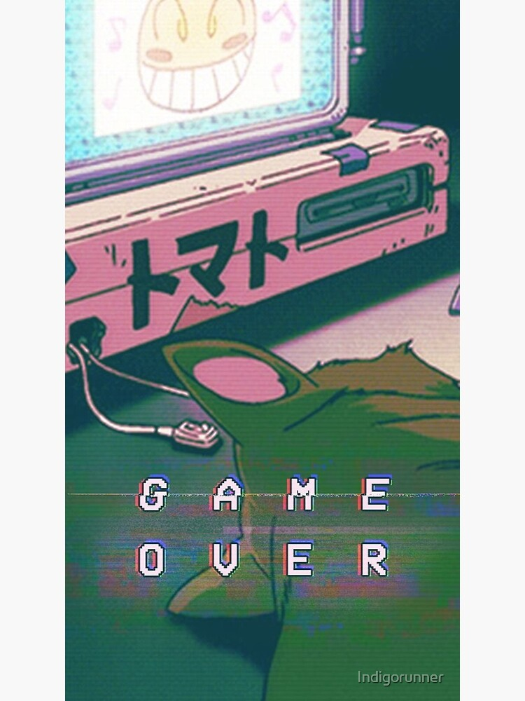 Aesthetic Game Over by Indigorunner
