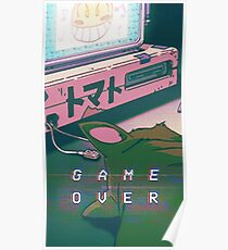 Aesthetic Game Over Poster