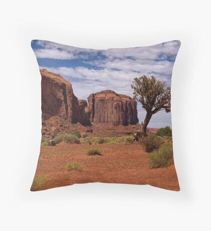 Alone I Stay Throw Pillow