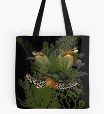 For The Love of Sea Turtles Tote Bag