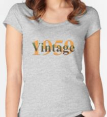 Vintage 1959 Women's Fitted Scoop T-Shirt