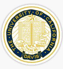 UC Davis Sticker — Seal Sticker