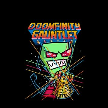 Invader Zim Doomfinity Gaunlet by HoodieMaxlo