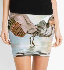 Wind Beneath Her Wings Mini Skirt
