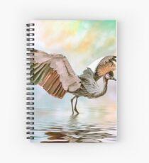 Wind Beneath Her Wings Spiral Notebook