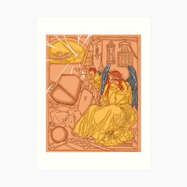 Melencolia 1 Art Print
