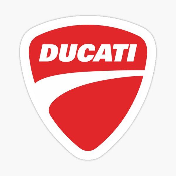 Ducati Logo Marchandise Sticker