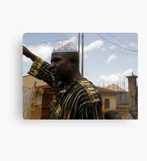 North Cameroon. Metal Print