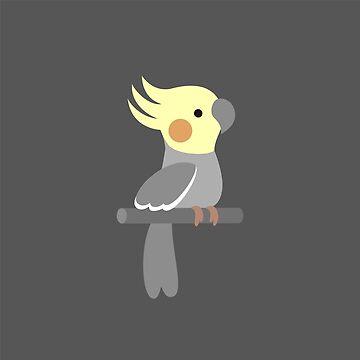 Cute cockatiel by petitspixels