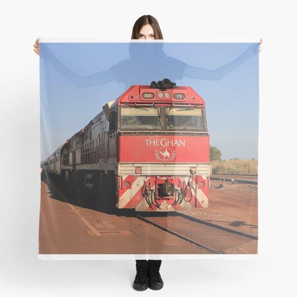 The Ghan train locomotive, Darwin Scarf
