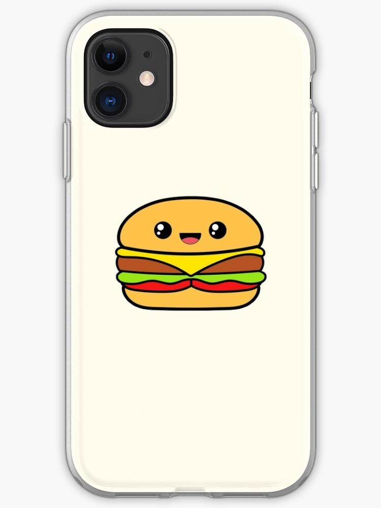 Cute Hamburger iphone 11 case