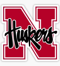 Nebraska Cornhuskers  Sticker