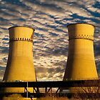 Tinsley Viaduct Cooling Towers by Glen Allen