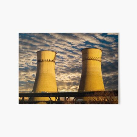Tinsley Viaduct Cooling Towers Art Board Print