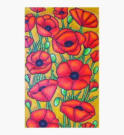 Poppies I Photographic Print