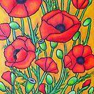 Poppies II by LisaLorenz