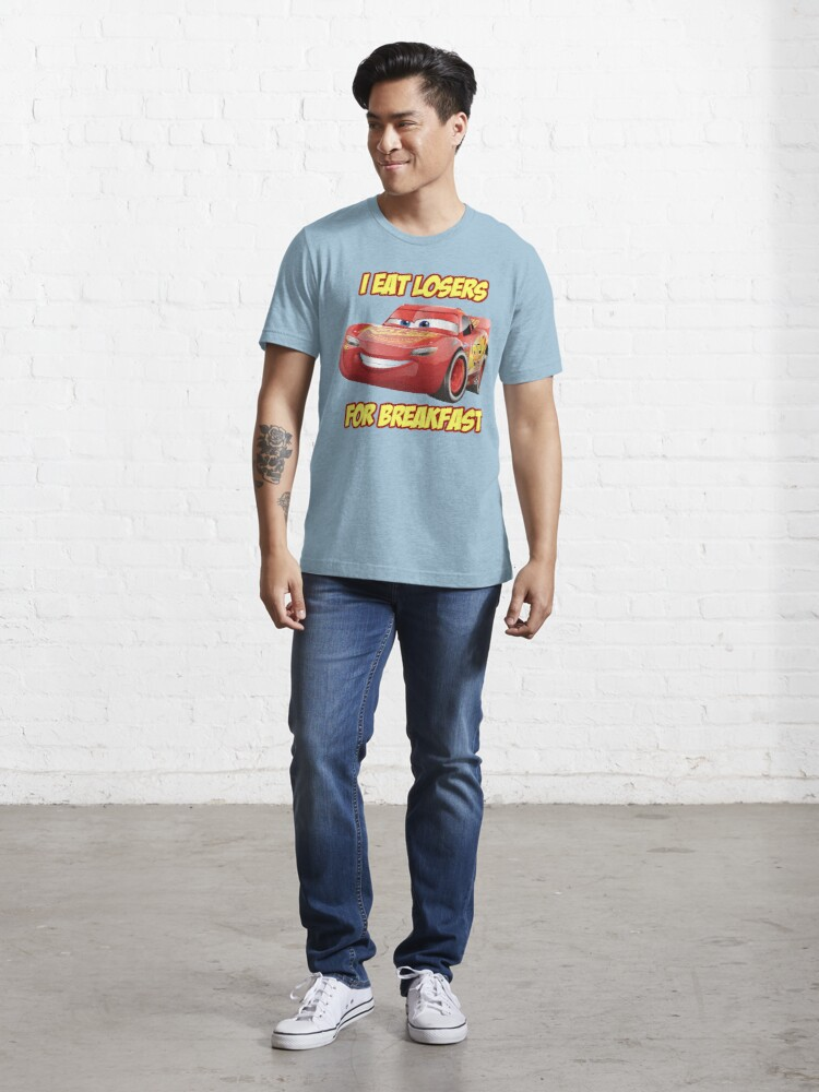 Alternate view of Lightning Mcqueen from Cars Essential T-Shirt