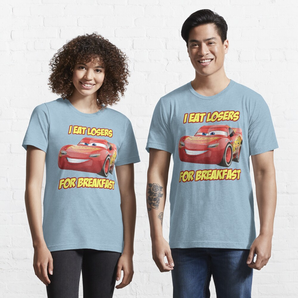Lightning Mcqueen from Cars Essential T-Shirt