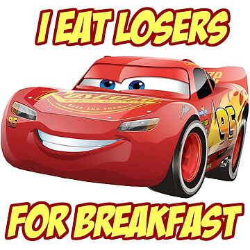 Lightning Mcqueen from Cars by normanlikescats