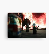 Lego Firefighters Canvas Print