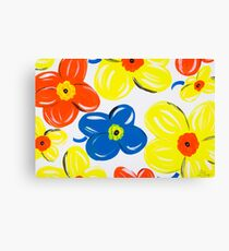 A Pattern of Floral Canvas Print