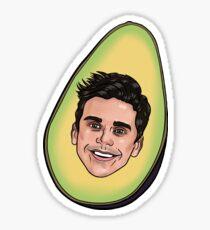 Queer Eye: Antoni Porowski (Avocado) shirts, cases, etc. Sticker