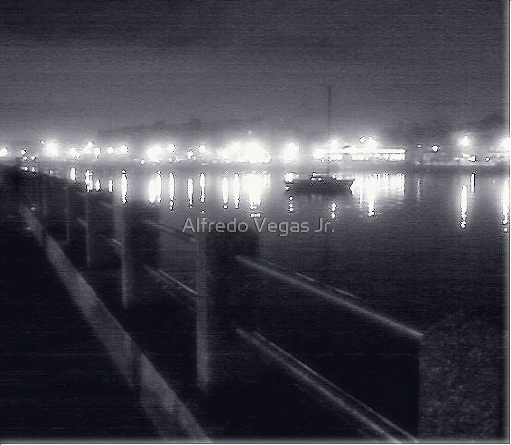 Nightfall over the bay by Alfredo Vegas Jr.
