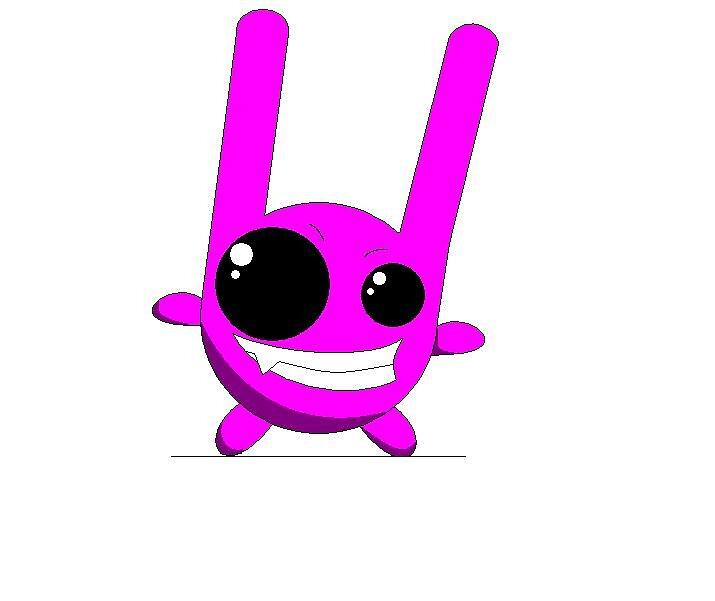 purple bunny by layveena
