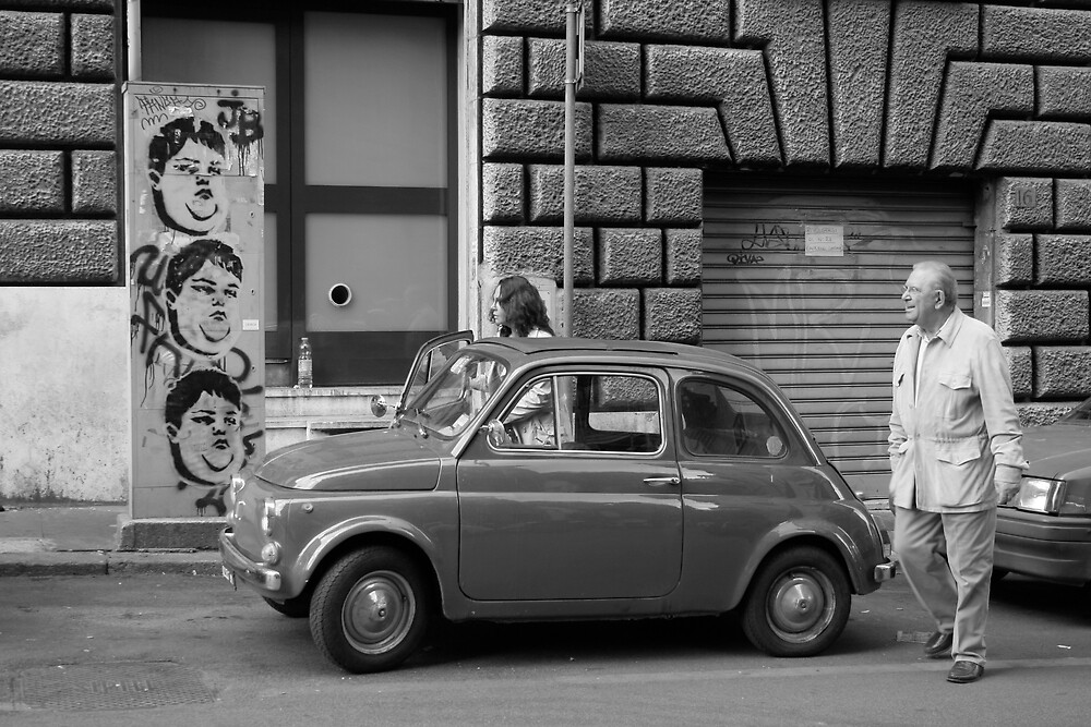 Fiat 500 by Sarah King