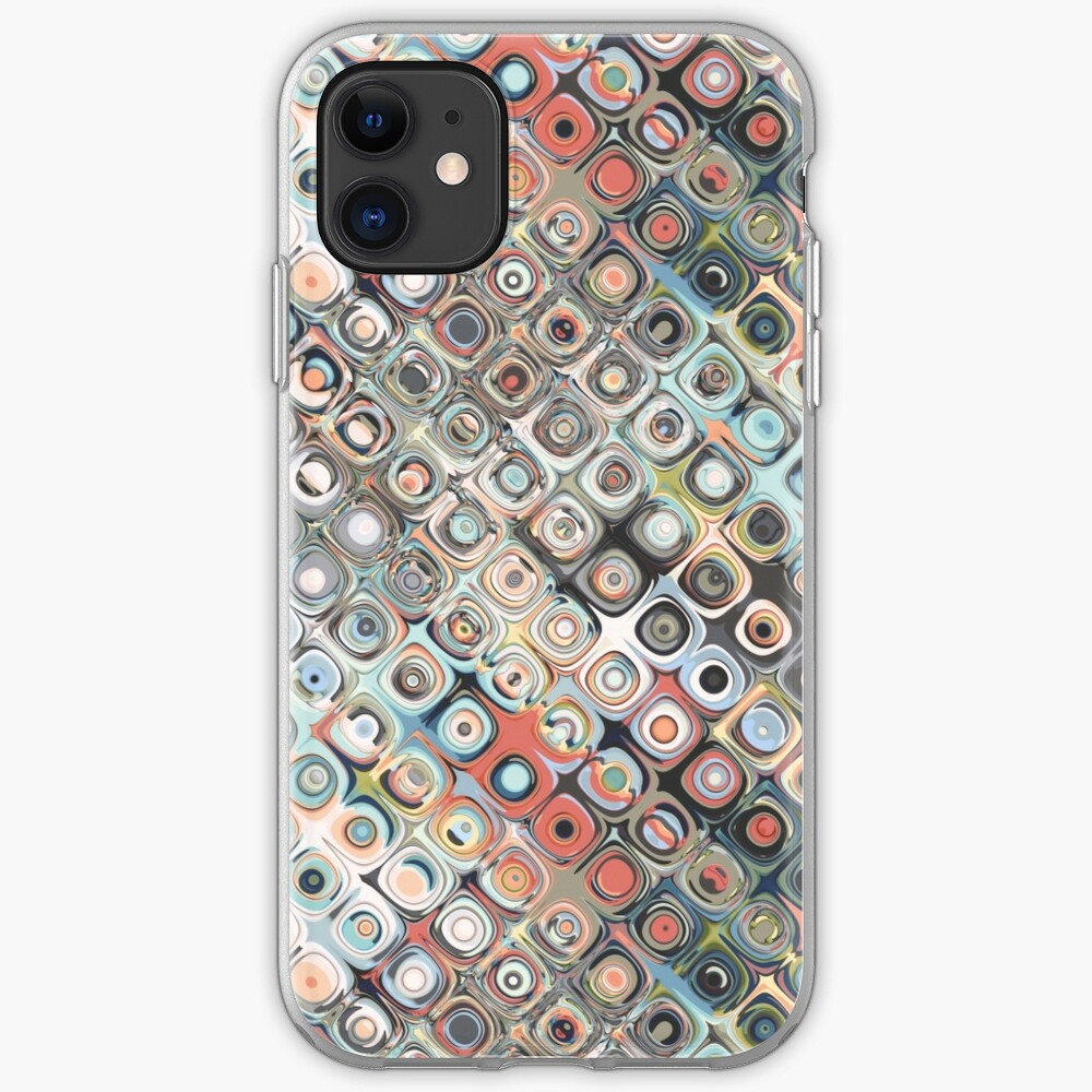 Geometric Pastels Pattern iPhone Case & Cover