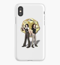 Solving Puzzles, Saving the day. iPhone Case