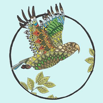 Mandala Kea in Flight by Hummingbirdnz