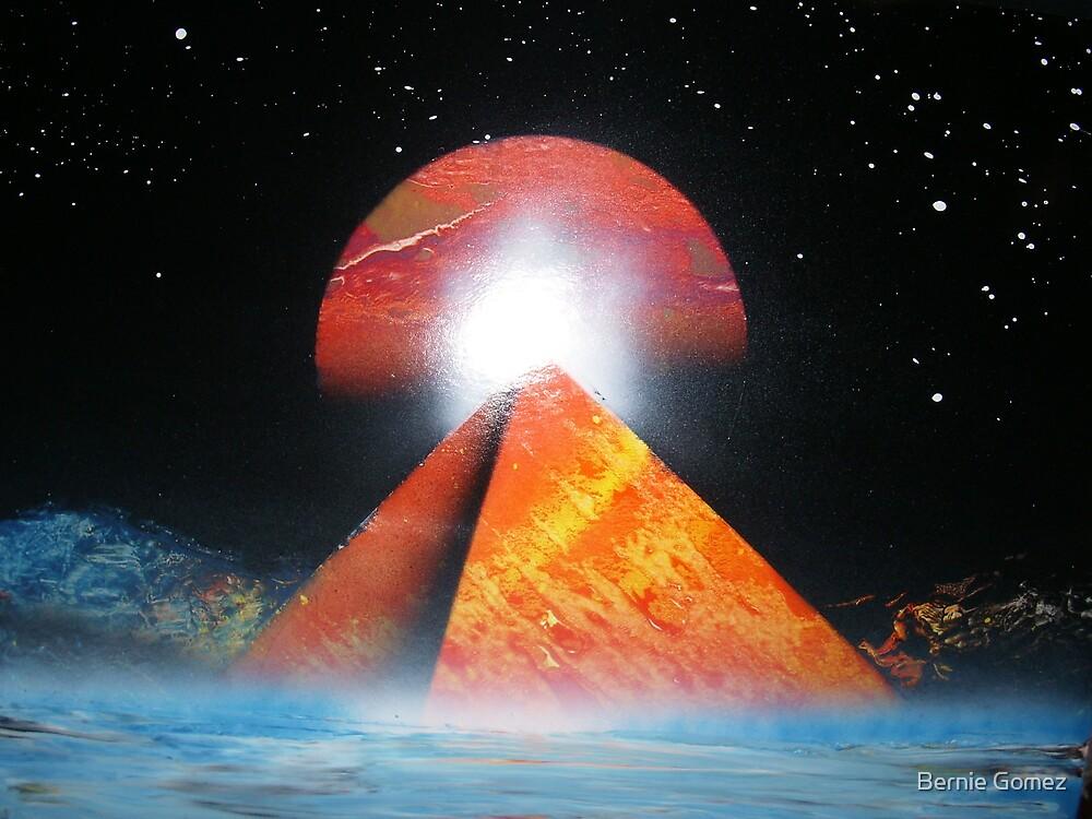 Water Pyramid by Bernie Gomez
