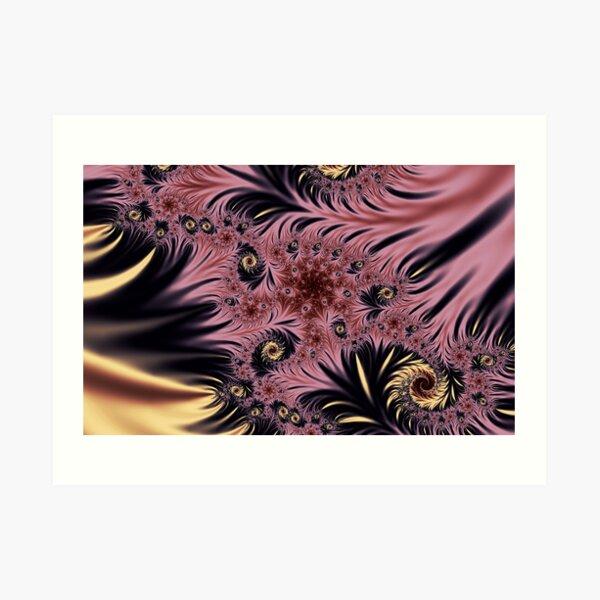Silken Pleasures Art Print