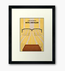 No943 My Hotel Chevalier minimal movie poster Framed Print