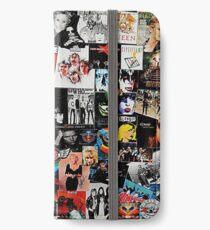 Rock-Collage iPhone Flip-Case/Hülle/Klebefolie