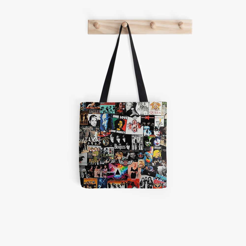 Rock Collage Tote Bag