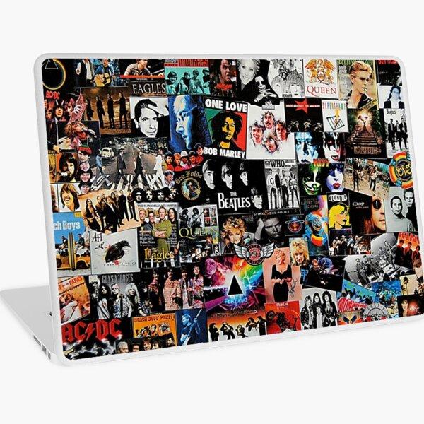 Rock Collage Laptop Skin