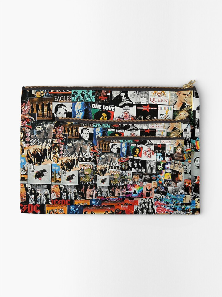 Alternate view of Rock Collage Zipper Pouch
