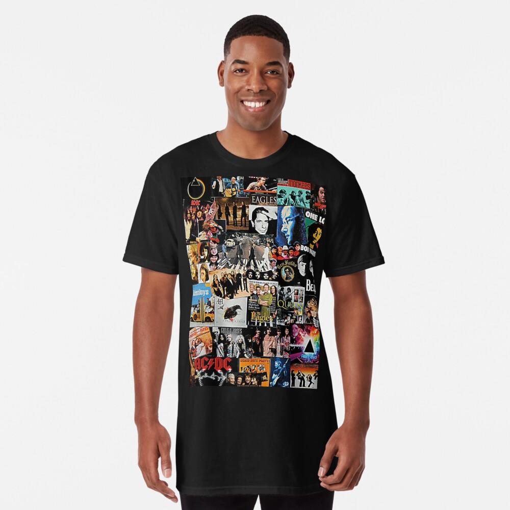 Rock Collage Long T-Shirt
