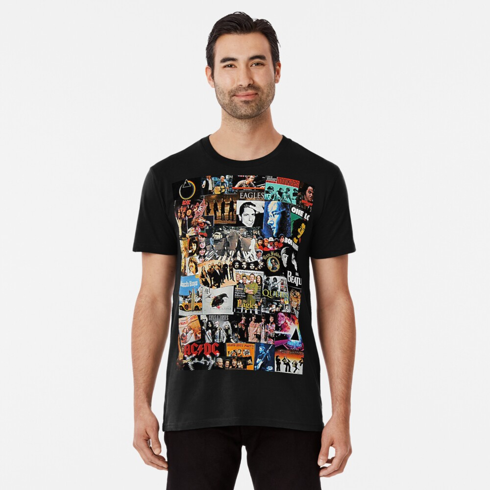 Rock Collage Premium T-Shirt
