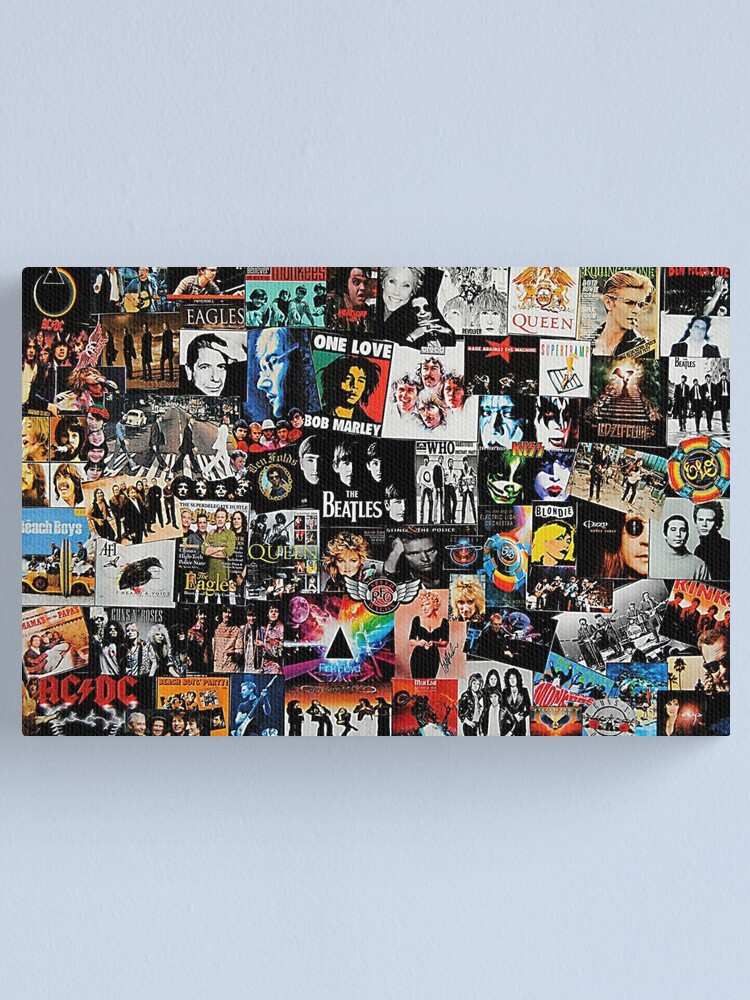 Alternate view of Rock Collage Canvas Print