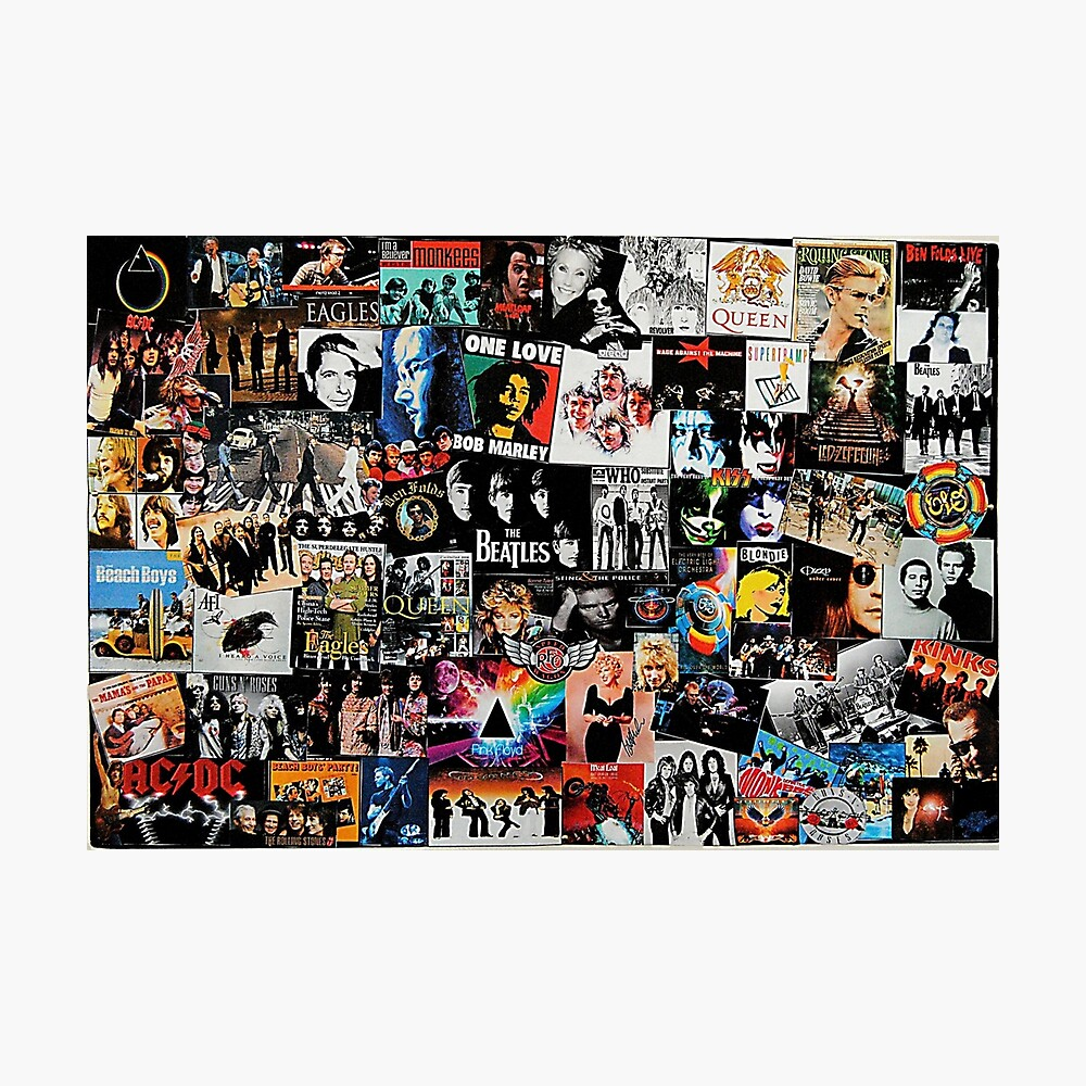 Rock Collage Photographic Print