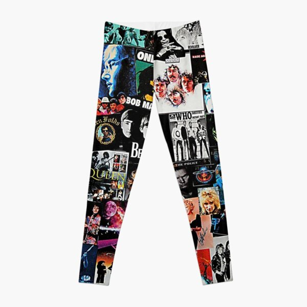 Rock Collage Leggings