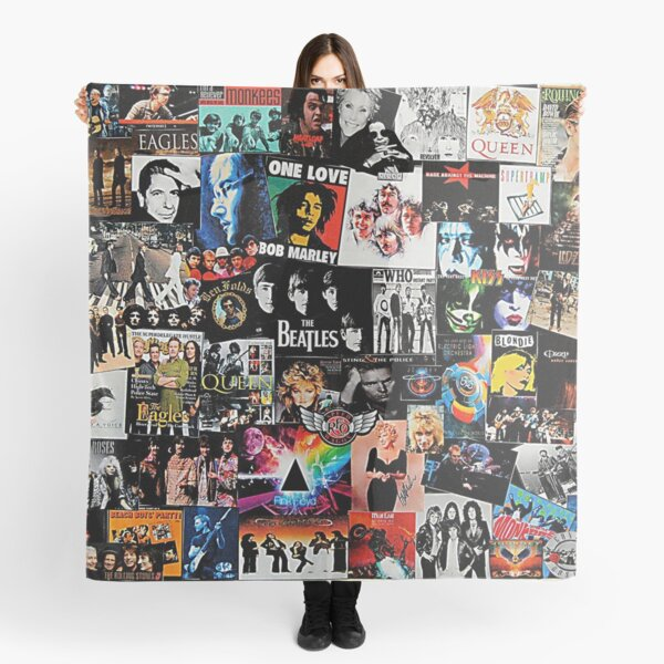 Rock Collage Scarf