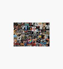 Rock-Collage Galeriedruck