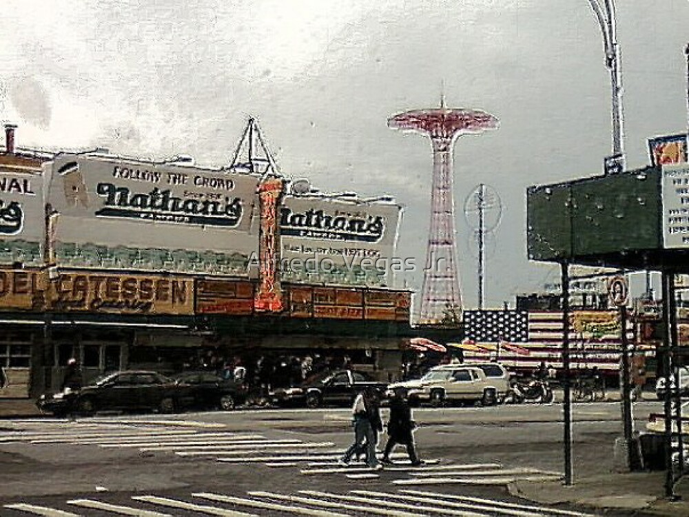 Coney Island by Alfredo Vegas Jr.