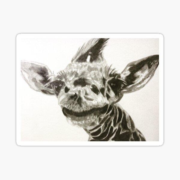 Clyde the Giraffe Sticker