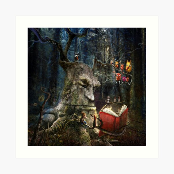 """The Storyteller"" Art Print"