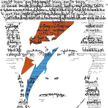 Ziggy Stardust Handwriting by monkeylennon